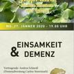 Vortrag 'Einsamkeit und Demenz'