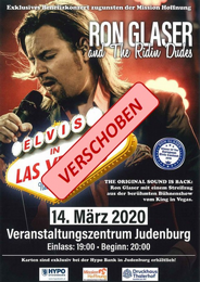 VERSCHOBEN auf 25. APRIL: Elvis in Las Vegas - The new Show