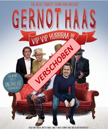 VERSCHOBEN - Gernot Haas - Kabarett