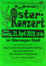 Osterkonzert der Trachtenmusikkapelle Reifling