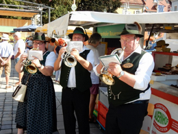 Volksmusik am Judenburger Bauernmarkt