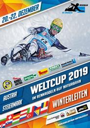 Weltcup 2019, Rennrodeln auf der Naturbahn Winterleiten