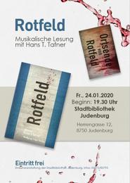 Rotfeld - Musikalische Lesung