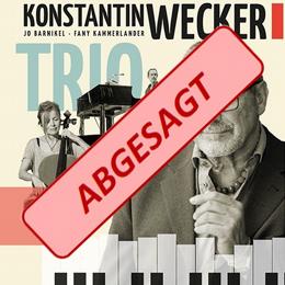 Abgesagt - Konstantin Wecker - Trio